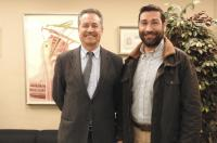 El decano del Colegio de Fisioterapeutas se reúne con el subsecretario Autonómico de Sanidad