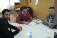 El decano del Colegio de Fisioterapeutas de la CV se ha reunido con el presidente del Colegio de Veterinarios de Valencia
