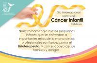 Fisioterapia, elemento clave para el tratamiento de trastornos motores y neurológicos causados por el cáncer infantil