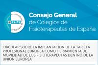 Se retrasa la entrada en vigor de la Tarjeta Profesional Europea según informe el CGCFE