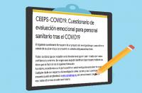 Cuestionario de evaluación emocional para personal sanitario tras el COVID-19 ¡Participa!