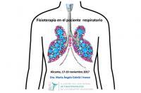 Fisioterapia respiratoria, próximo monográfico en Alicante del 17 al 19 de noviembre