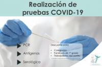 El ICOFCV cierra condiciones especiales con centros para la realización de pruebas de COVID-19